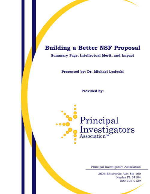Better_NSF_Proposal_Handout