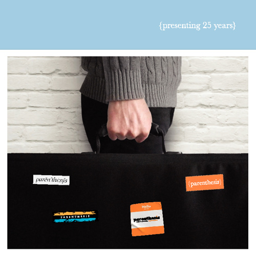 25th Anniversary brochure