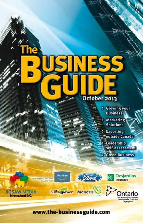 Business Guide October 15th 2013