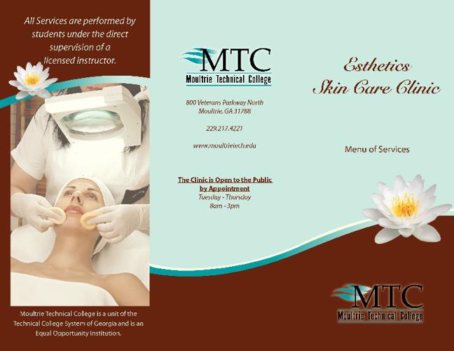 MTC Esthetics Services Brochure