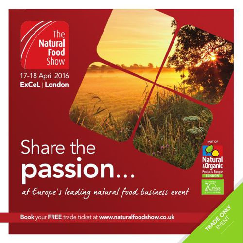 Natural Food Show Visitor Brochure