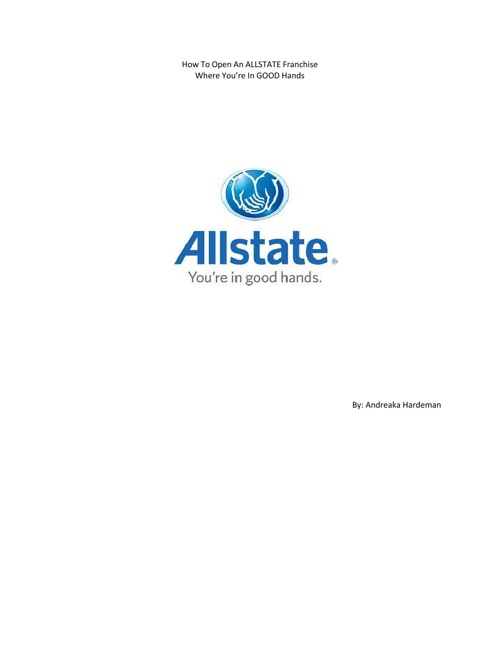How To Open An Allstate Franchise