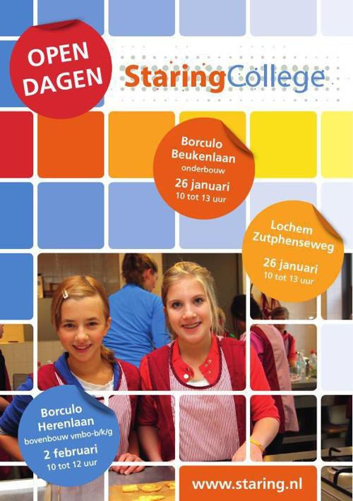 Algemene folder Staring College