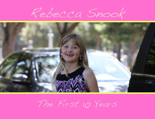 Rebecca Snook's First 10 Years
