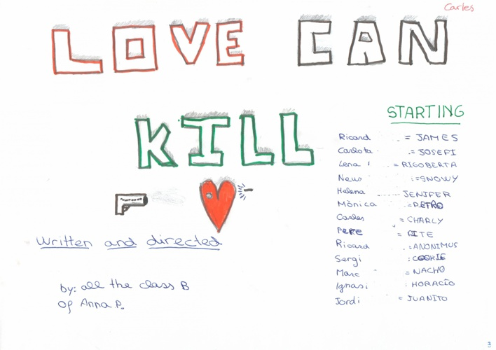 Love can kill