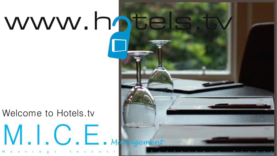 Hotels tv Brochure for Event Organisers