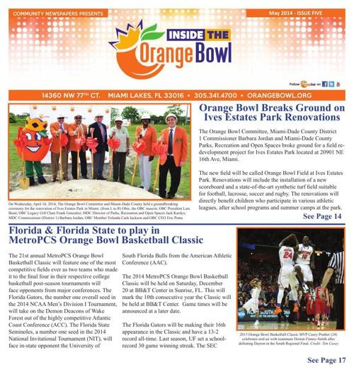 Inside the Orange Bowl Issue 5 (2014)