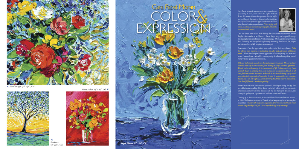 "Cara Pabst Moran ""Color & Expression"""