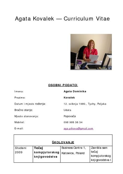 CV Agata Hrvatski