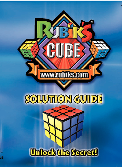 Instructivo Cubo de Rubik