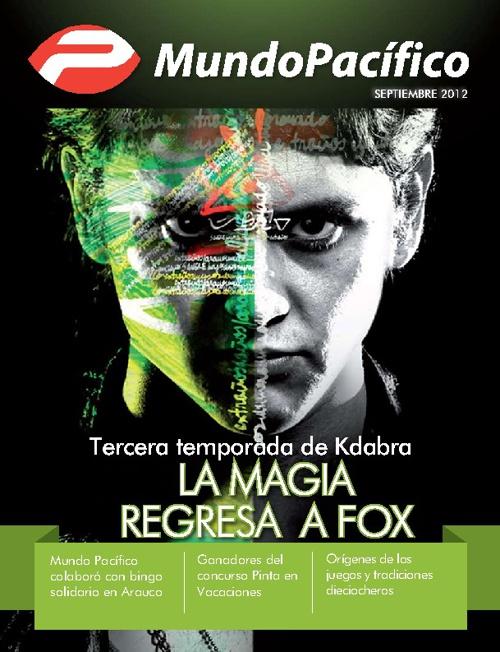 Revista Mundo Pacífico - Septiembre 2012