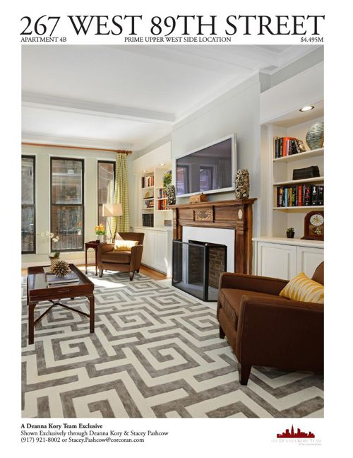 267 West 89th Street, Apartment 4B