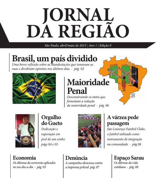 Jornal da Região - Abril/Maio de 2015