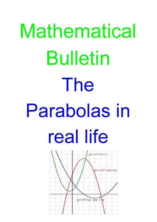 Summative Assessment Parabolas-4