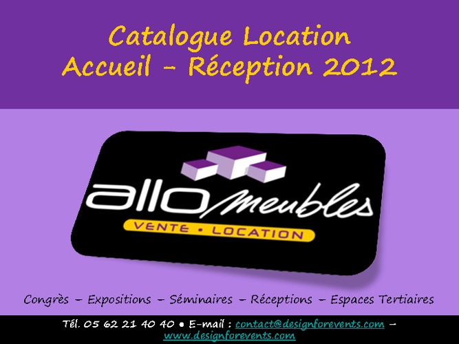 Catalogue Location Accueil