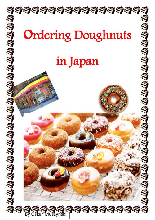 ordering dounuts in japan