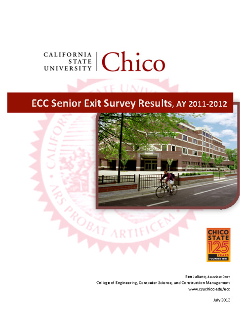 ECC Senior Survey Results 2011-2012