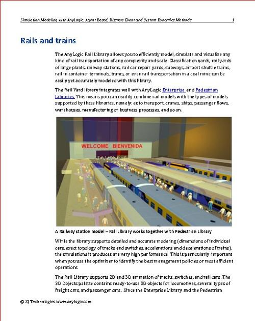 Rails and Trains