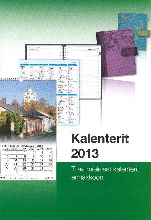 Kalenterit 2013