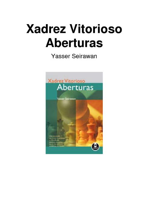 Xadrez Vitorioso - Aberturas