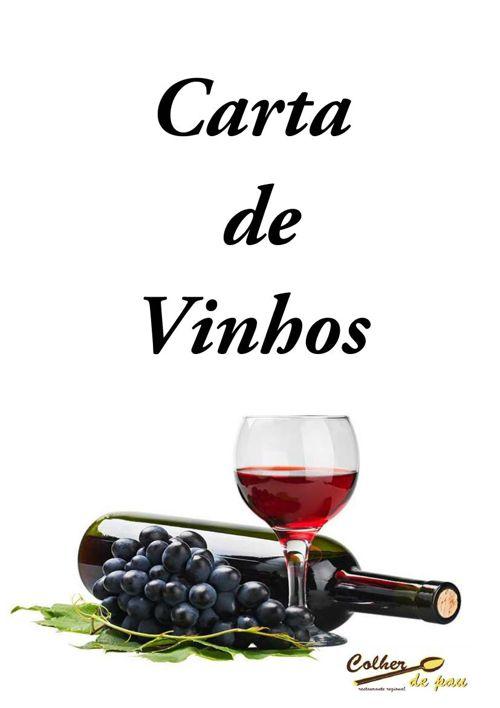 Carta de vinhos site