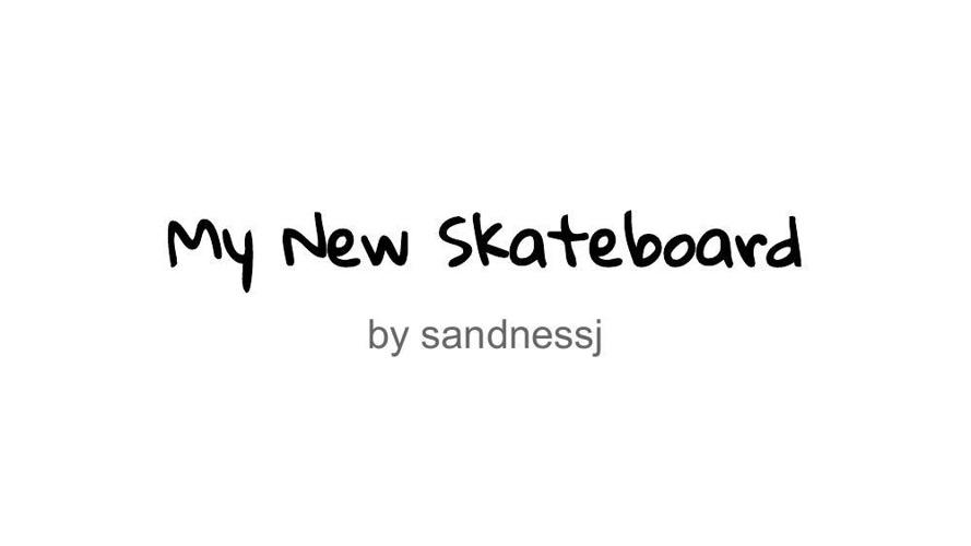 Personal Narrative - Publish It! - Joseph Sandness
