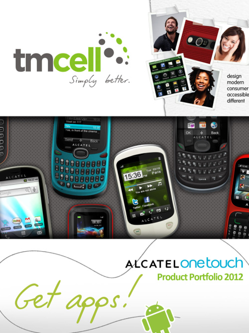 TM Cell - Alcatel Product Portfolio 2012