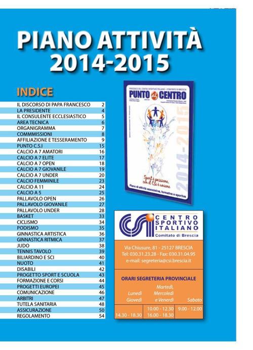 PUNTO AL CENTRO ESTATE 2014 20,5x28,5
