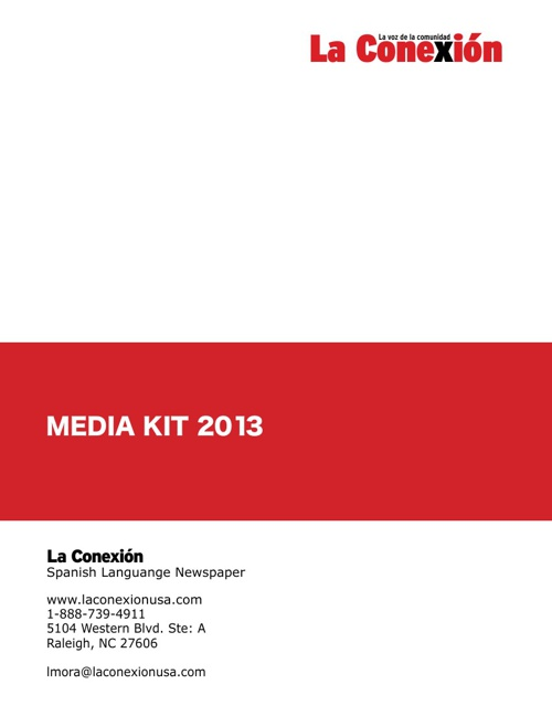 LA CONEXION WEB MEDIA KIT