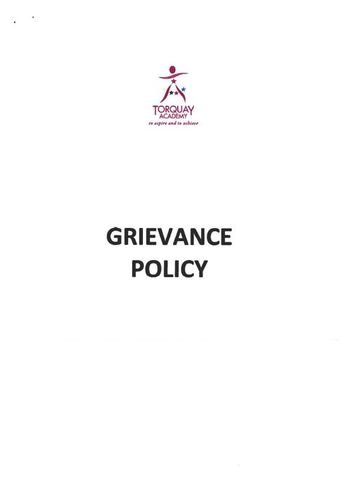 Grievance Sept 2014