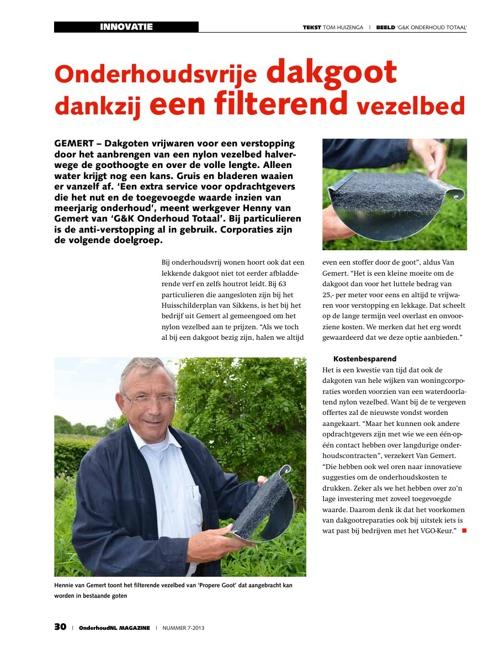 Artikel OnderhoudNL no. 6 September 2013