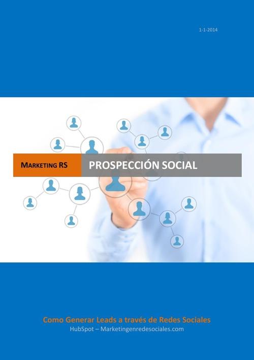 PROSPECCION SOCIAL