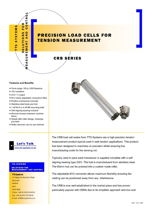 TTS Systems Brochure