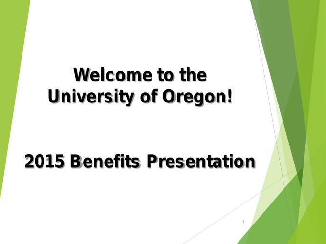 2015 Benefit Orientation