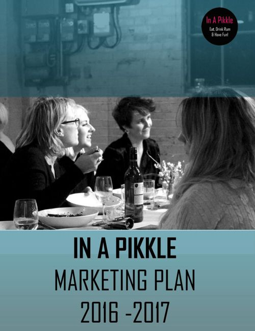 Pikkle marketing plan