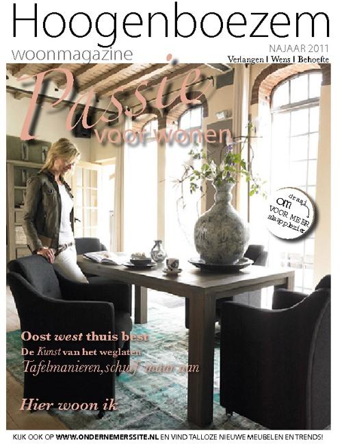 Magazine layout voorstel voor INhouse (ontwerp)