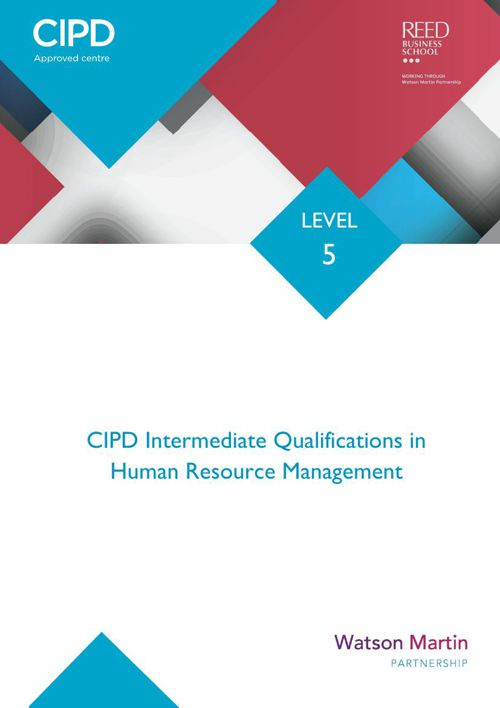 WMP - Level 5 Enquiry Pack (HR Management)