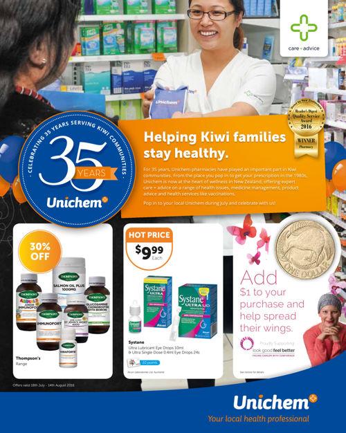 Unichem Birthday Mailer (DM5)