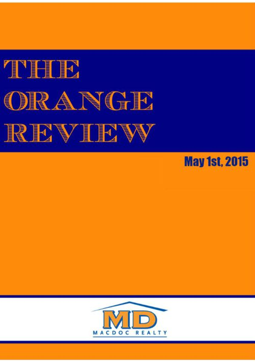May Orange Review