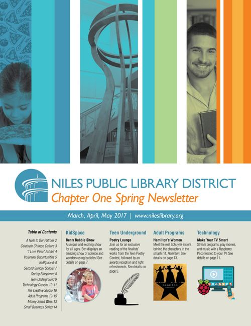 Chapter One Newsletter - Spring 2017