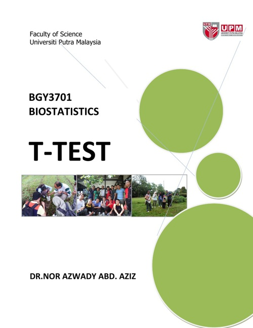 MA | Biology | T-Test
