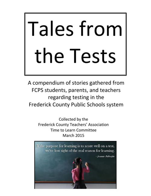 Tales from the Tests