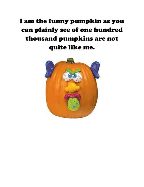 The Funny Pumpkin