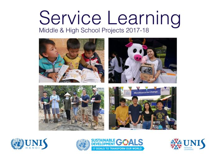 UNIS Hanoi Service Learning Booklet 2017-2018