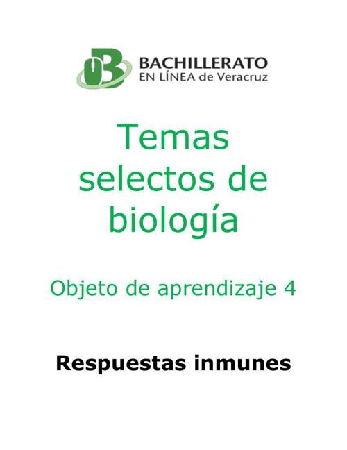 respuestas inmunes