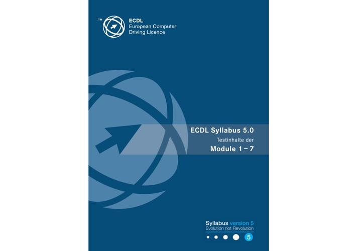 ECDL-Core Syllabus