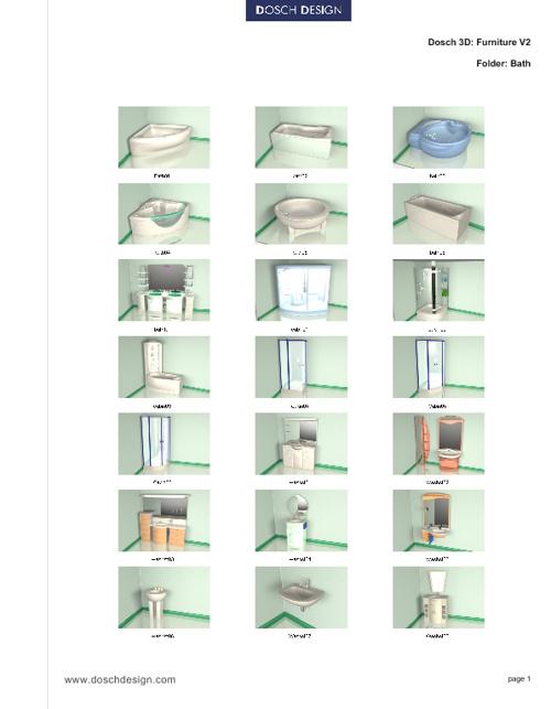 14_DOSCH 3D - Furniture.Vol.2