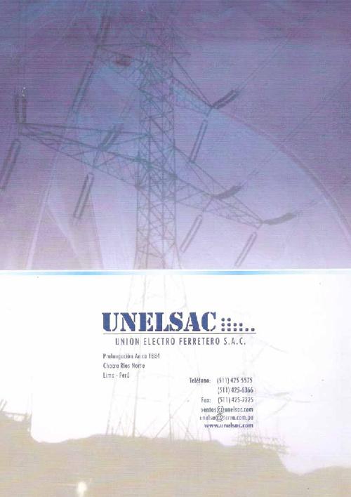 Brochure UNELSAC