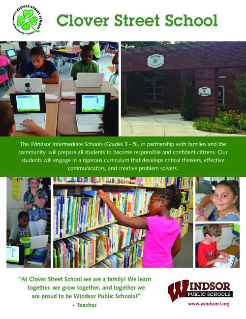 Clover Street School Brochure