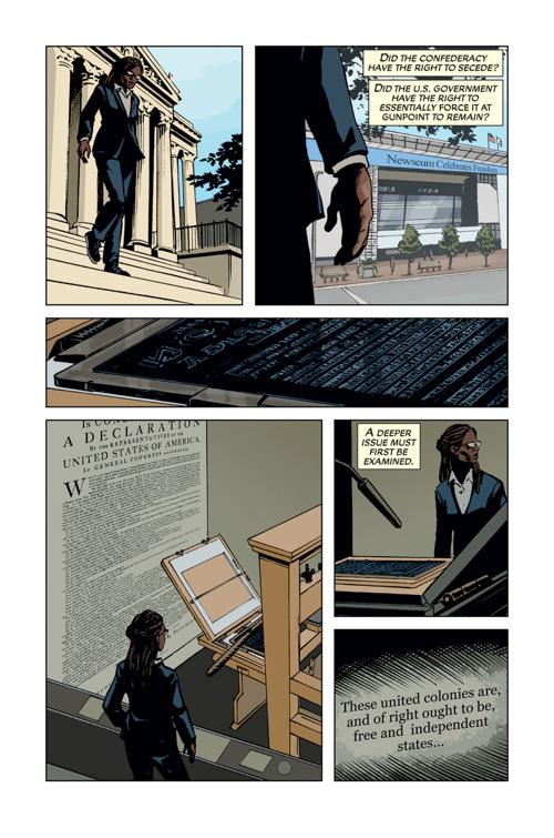 The Gettysburg Address: Graphic Adaptation (Excerpt